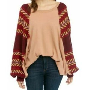 NEW FREE PEOPLE Knit Top